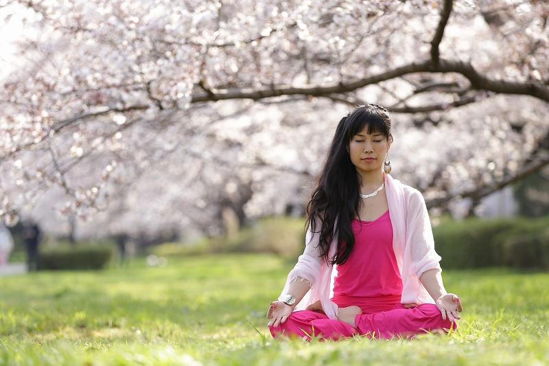 清澄庭園ヨガ・顔ヨガ&日本茶でいっぷく